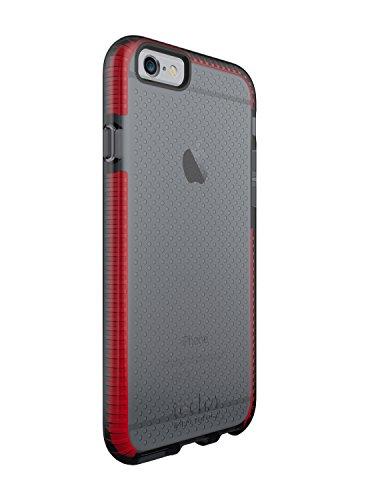 Tech21 Evo Mesh for iPhone 6/6S - Smokey/Red