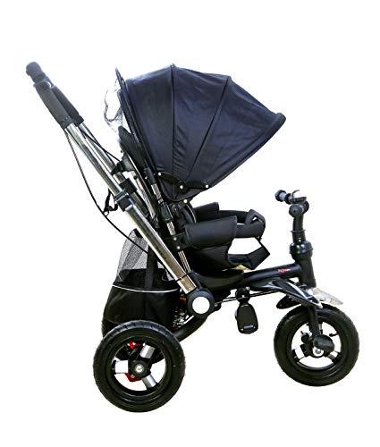 JUGUEA Triciclo Silla DE Paseo Negro