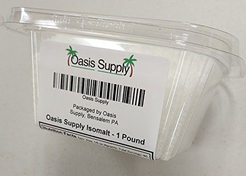 Oasis Supply Isomalt Crystals (1 Pound) by Oasis Supply