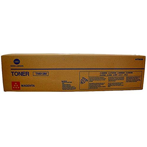 Konica-Minolta A0TM330 TN613M Magenta Toner Cartridge for...