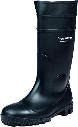 142PP Dunlop Toe New PVC Tough Wellington Welly FS1600 Steel Unisex Boot Safety wHz15qzt
