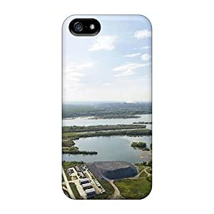 First-class Case Cover For Iphone 5/5s Dual Protection Cover Ob River Russia