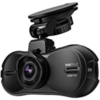 Vantrue R3 2K Dash Cam Super HD 1296P Car Dash Camera Dashboard DVR Video Recorder with Voice, Super HDR Night Vision, Parking Mode, Motion Dection, 170°Wide Angle, Loop Recording for 12-24V Cars