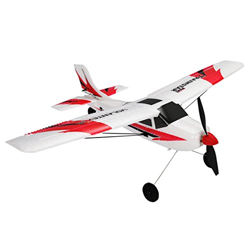Rc Park Flyer Plane (Costzon V761-1 Mini Trainstar 6-Axis 2.4G RC Airplane RTF Drone w/Transmitter)