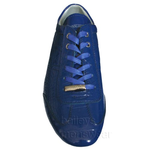 Bamboo Blue Patent Leather Trainer - Messi - 8 UK 100% authentic cheap online outlet with paypal order many kinds of online outlet best 5c0lt