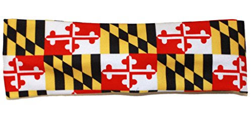 Route One Apparel | Maryland Flag (Style 2) Headband