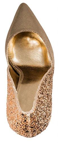 Elara - Cerrado Mujer dorado