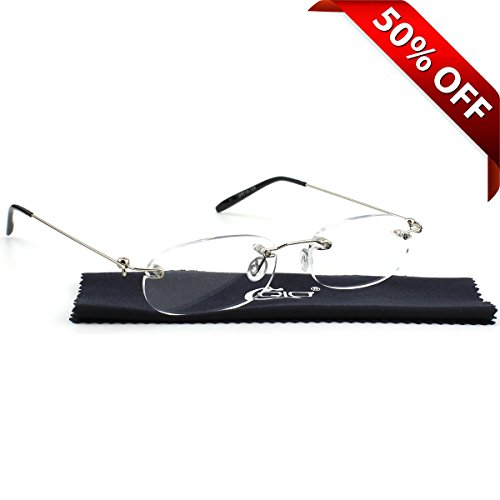 Stylish Rimless Frameless Magnifying Reading product image