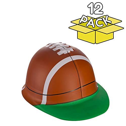 12 Pack | Football Party Favors Hats in Bulk for Boys, Girls, Men & Women]()