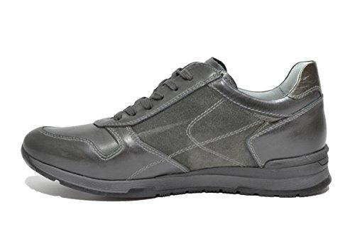 A705241U Uomo 5241 Giardini Sneakers Nero Antracite Scarpe Y0OZfqw