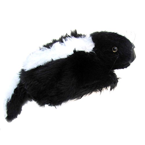 Daniel Boone Davey Crockett Skunk Head FUR Tail HAT for sale  Delivered anywhere in Canada