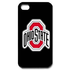 Customized Sport Phone Case Ohio State Buckeyes For iPhone 4,4S Q5A2113336