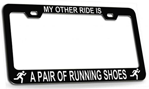 license plate frame for runners - 9