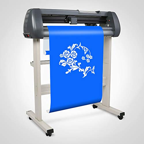 FINCOS 28'' Vinyl Cutting Plotter Pressing Cutter Printer by FINCOS (Image #2)