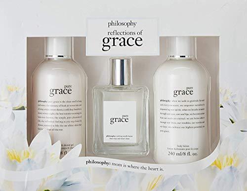 - Philosophy Pure Grace 3 Piece Fragrance Set for Women