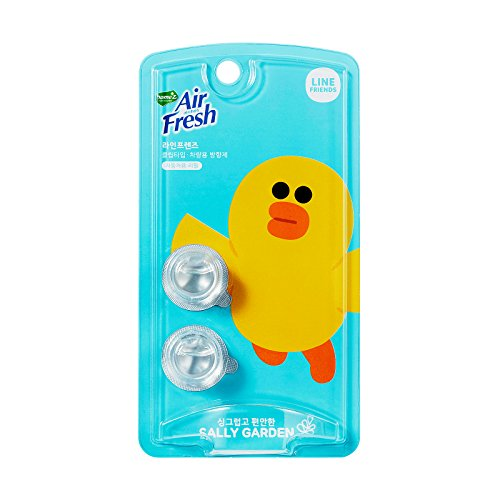 LINE FRIENDS Sally Garden Car Air Freshener - Refill One Size Sky (Sally From Cars Costume)