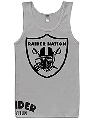 Raider Nation Skull Grey Tank TOP (Limited Edition)