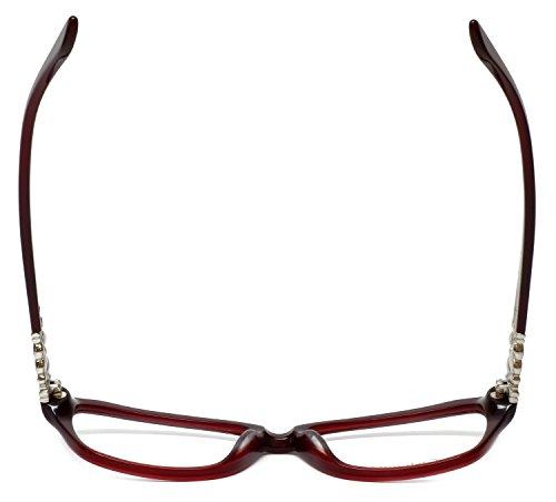f6a056161f0 Amazon.com  Silver Dollar Designer Reading Glasses Cashmere 467 53mm in  Auburn +0.25  Clothing