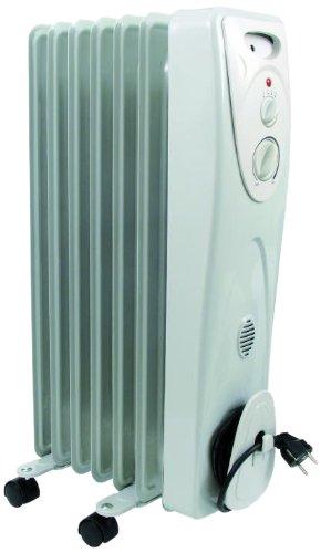HJM 824 Color blanco 2400W Radiador - Calefactor (Radiador, Piso, Color blanco,