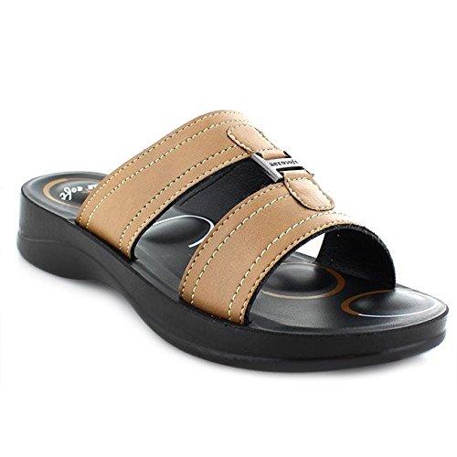 Lena (S3602) - Original Aerosoft Women Sandals Tan (#D2b48c) qL5OQBbW
