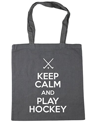 HippoWarehouse 42cm Graphite x38cm Gym and Shopping litres Grey Keep 10 Hockey Beach Calm Bag Play Tote qTrxqC
