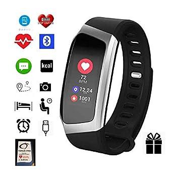 Reloj inteligente de actividad de Torus Pro, reloj de fitness, pérdida de peso, ajuste y ajuste constante, monitor de frecuencia cardíaca,