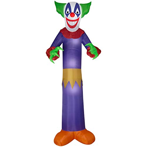 Gemmy Halloween Inflatable Clown 12FT Tall Indoor/Outdoor Holiday Decoration (Inflatable Clown)