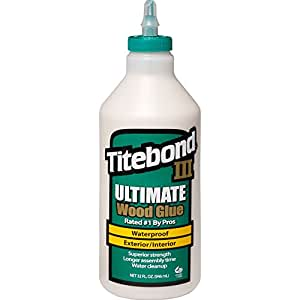 Titebond 1415 III Ultimate Wood Glue, 32-Ounce Bottle