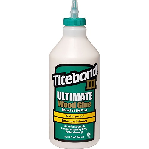 Titebond 1415 III Ultimate Wood Glue, 32-Ounce Bottle