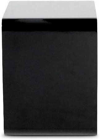 Royaledeco Cube De Rangement Noir Laque Amazon Fr Cuisine Maison