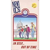 New Kids on the Block/In Step.Out of Time (Animated) VHS