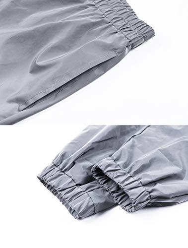ba671d6f9a9bb5 Amazon.com: Reflective Pants Men 2018 Brand Hip Hop Dance Fluorescent  Trousers Casual Harajuku Night Sporting Jogger Pants Gray: Clothing