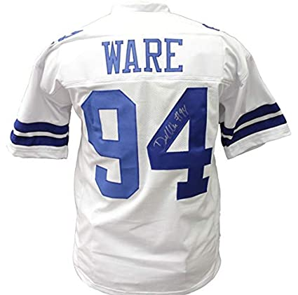 quality design 54713 86f44 Demarcus Ware Autographed Signed Dallas Cowboys Home Jersey ...