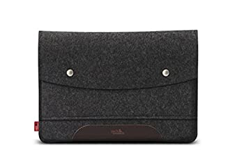 Pack & Smooch iPad Pro 9.7 Inch Case Cover Sleeve 100 % Merino Wool Felt And Vegetable Tanned Leather