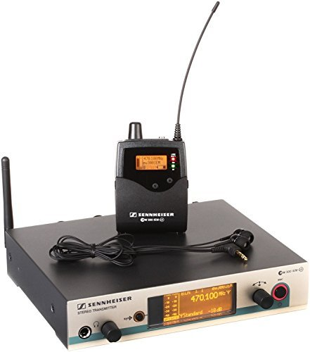 Sennheiser EW 300 IEM G3 - A-1 Band, 470-516MHz by Sennheiser