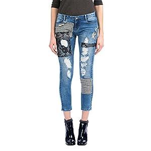 Desigual –  Pantaloni – Donna 5053 Jeans Vaquero