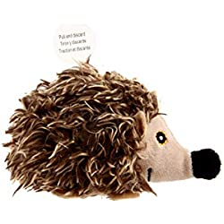 Gigwi Chirpy Hedgehog Sound Toy for Cats, Interactive Squeaking Cat Toys Melody Chaser Play N Squeak Kitten Toy for Boredom