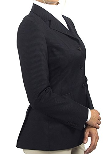 RJ Classics Ladies' Diamond Collection Black Saratoga Show Coat (8)