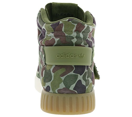 adidas Tubular Invader Strap, Unisex Adults' High Trainers camouflage