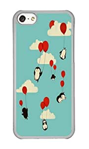 Apple Iphone 5C Case,WENJORS Uncommon We Can Fly Hard Case Protective Shell Cell Phone Cover For Apple Iphone 5C - PC Transparent
