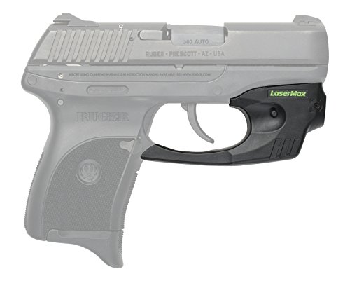 LaserMax Green CenterFire for Ruger LC9 LC9s & LC380 Green Laser Sight - CF-LC9-G