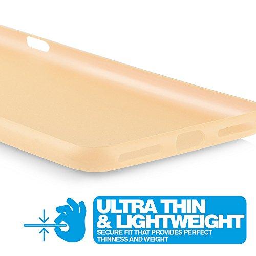 iPhone 7 Hülle Ultra Thin Case Schutzhülle 4,7'' Zoll in aufregenden Farben gold - Idealer Schutz für Diamantschwarz Jet Black iPhone7