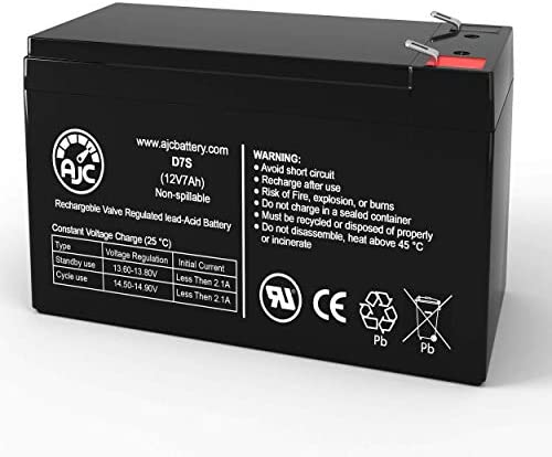 National Power NB12-7.5HR 12V 7Ah Sealed Lead Acid Battery - This is an AJC Brand Replacement