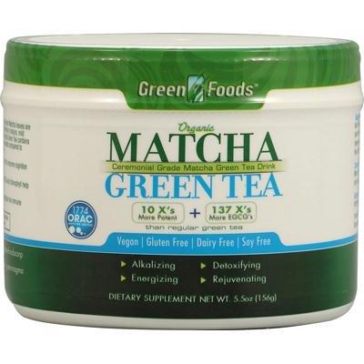 Green Foods Matcha Green Tea 1x 5.5 Oz