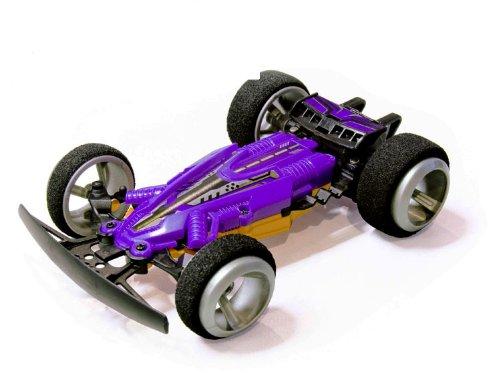 CM-CQF  赤外線コントロール3D特技スポーツカー 反斗高速 児童子供適用 (purpleyellow)