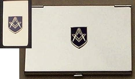 Amazon masonic gifts masonic business card holder money clip masonic gifts masonic business card holder money clip colourmoves