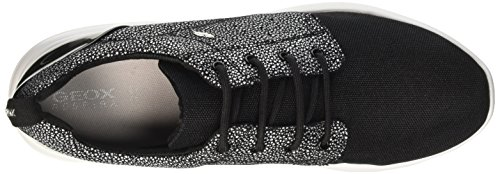 Geox D Ophira a, Zapatillas para Mujer Negro (Blackc9999)