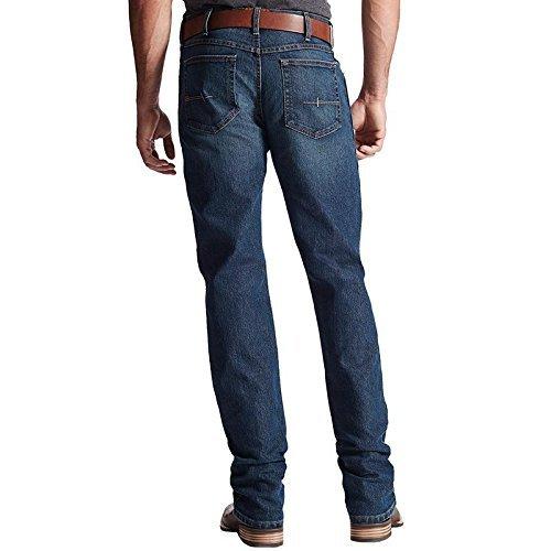 Ariat Men's Rebar Fashion M4 Lowrise Boot Jeans Carbine 40 36