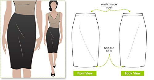 Style Arc Sewing Pattern - Fay Skirt (Sizes 18-30) - Click for Other Sizes Available