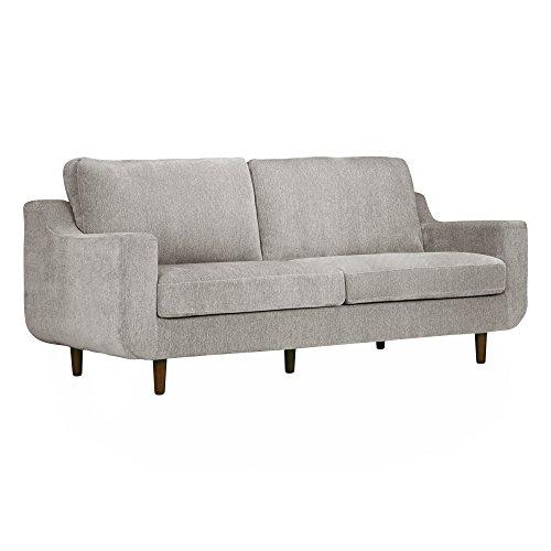 POLY & BARK Nottingham 3-Seater Sofa Grey -